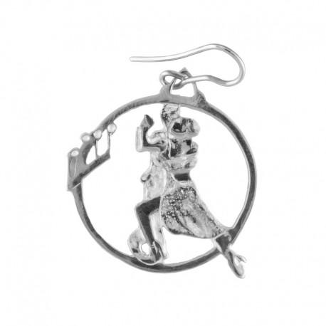Bijoux boucle d'oreilles de danse : LUNA